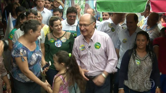 Alckmin critica no Acre 'populismo de esquerda do PT' e 'populismo de direita de Bolsonaro'