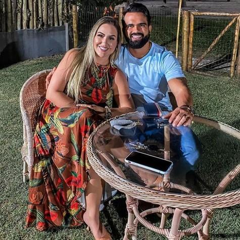 Patricia Leite e o marido (Foto: Reprodução Instagram)