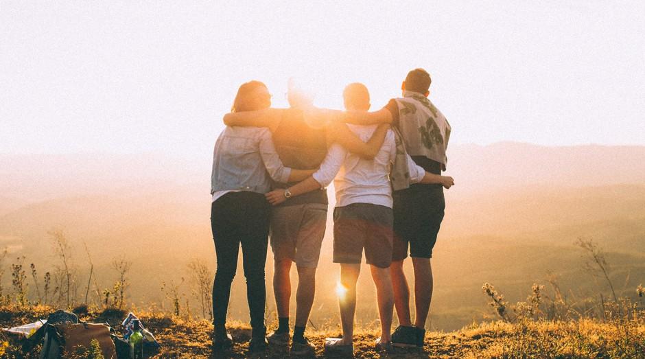 Amigos, empreendedores, colegas, companheiros, amizade, empreender, empreendedorismo (Foto: Reprodução/Pexel)