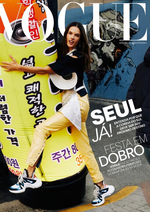Alessandra Ambrósio na Vogue Brasil, maio 2018 (Foto: Vogue Brasil)