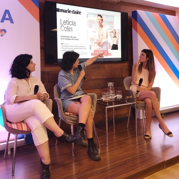 Natacha Cortêz, Karen Ka e Jessica Aronis (Foto: Marcela De Mingo)