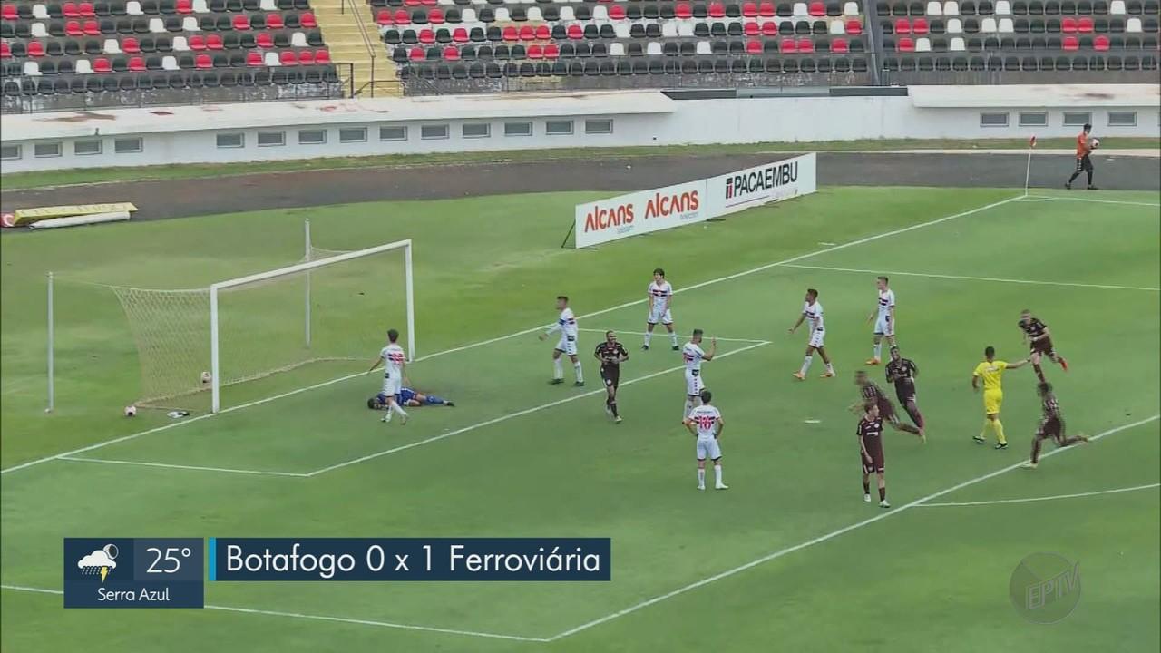 Pela Copa Paulista, Botafogo-SP perde e é eliminado