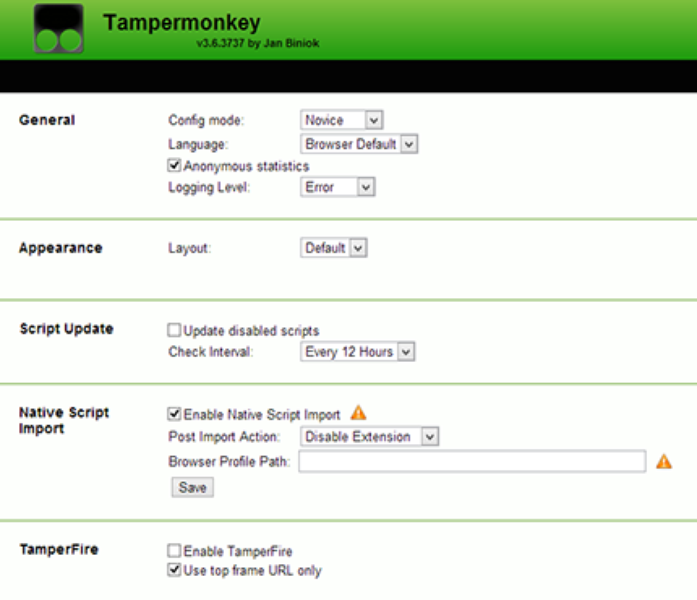 Tampermonkey | Download | TechTudo