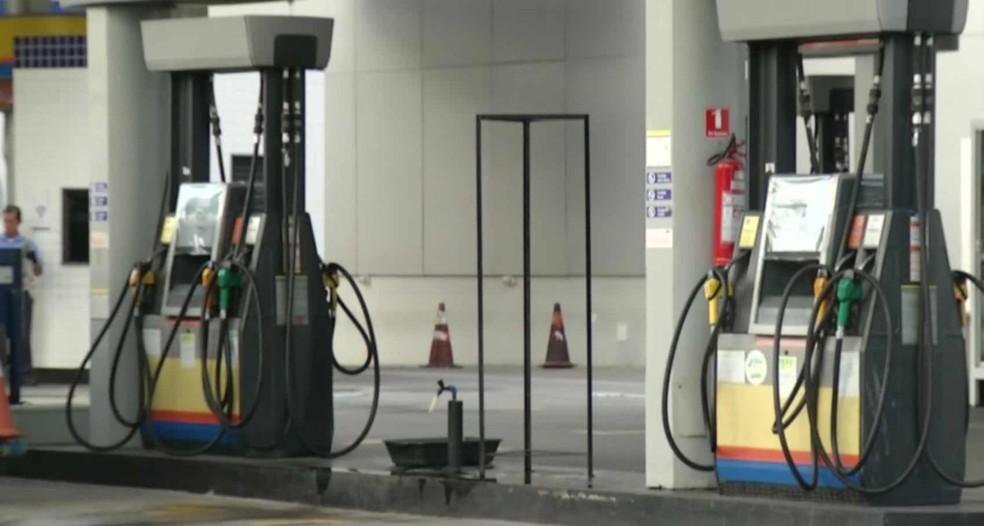 Rio de Janeiro é o estado que tem a gasolina mais cara do país — Foto: Reprodução/TV Globo