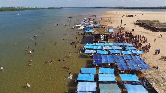 Programa mostra a beleza do Rio Tocantins e a polêmica sobre a transposição