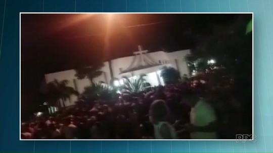 Vídeo registra momento em que tiros são disparados durante festa em Guairaçá