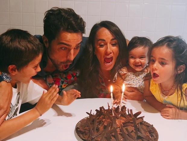 Francisca Pereira festeja aniversário com a família (Foto: Instagram/Reprodução)