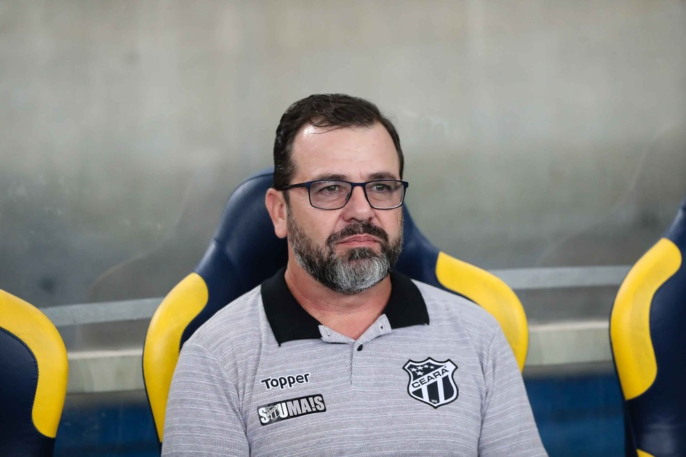Enderson Moreira, Ceará, Fluminense — Foto: ANDRÉ MELO ANDRADE/AM PRESS & IMAGES/ESTADÃO CONTEÚDO