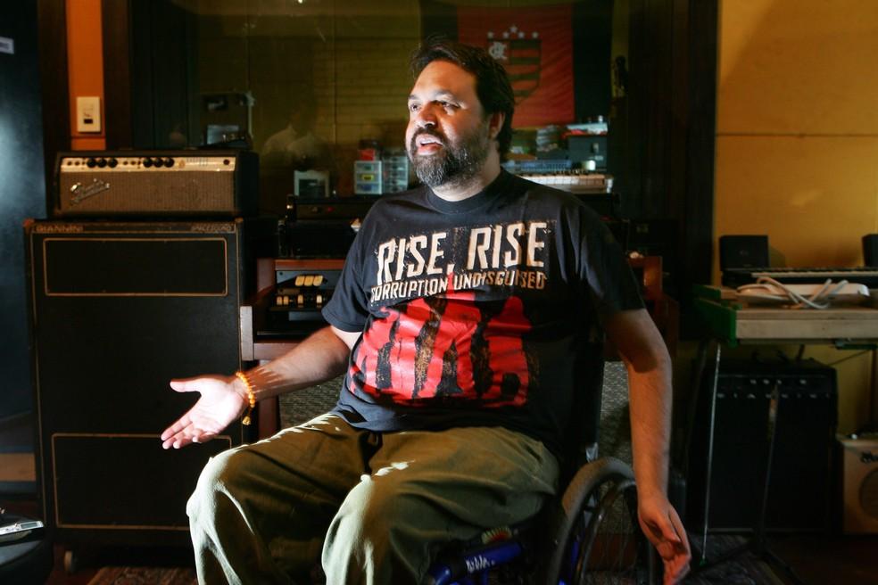 O músico carioca Marcelo Yuka, em foto de 2009 — Foto: Fábio Motta/Estadão Conteúdo/Arquivo