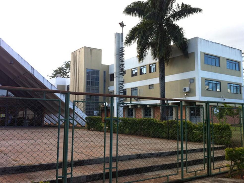 Igreja Anglicana, em Brasília (Foto: Káthia Mello/G1)