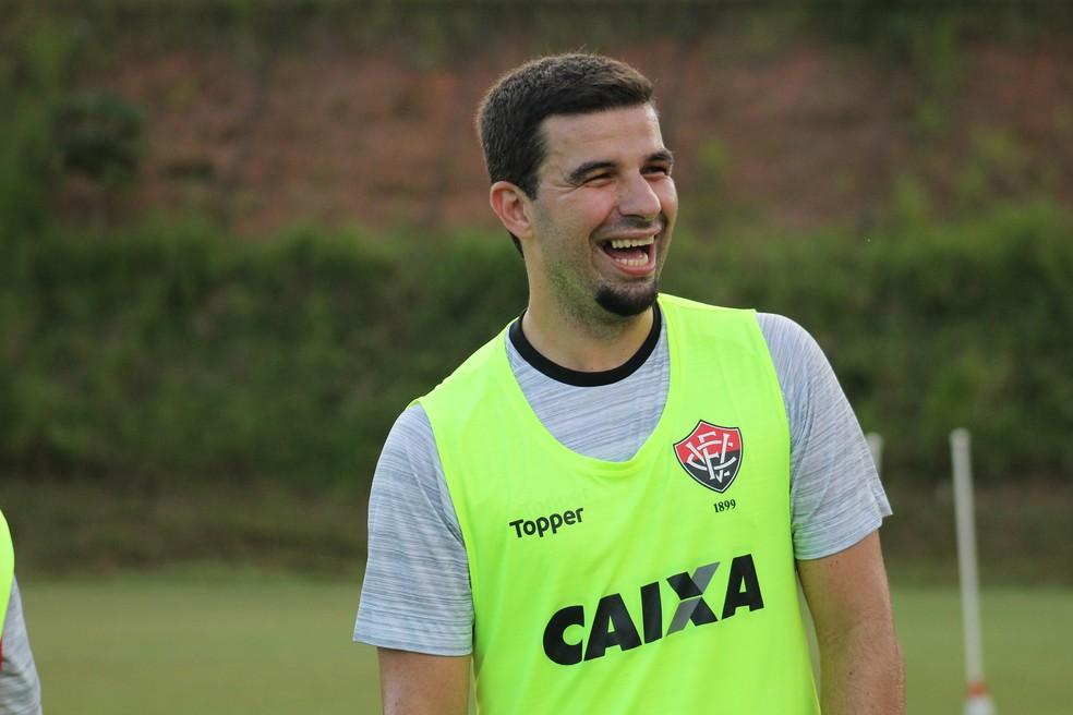 4eeb0b1c79905 ... André Lima voltou a ser relacionado após um mês longe das partidas  oficiais — Foto