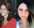 Luiza Curvo na novela 'Era uma vez' e atualmente | Arquivo