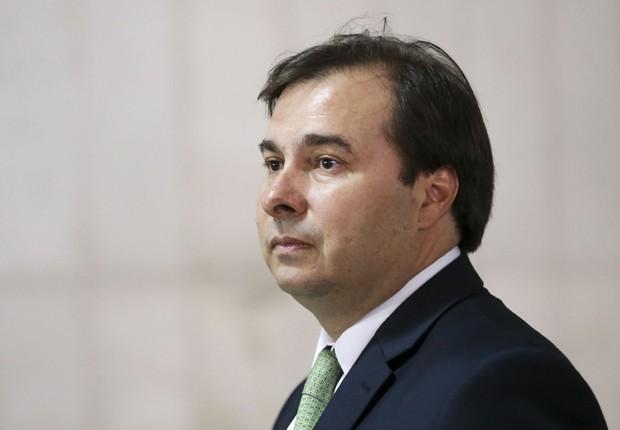 O presidente da Câmara Rodrigo Maia (DEM-RJ)  (Foto: Marcelo Camargo/Agência Brasil)