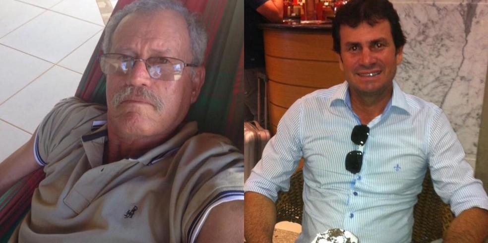 Arrival Rios e Jadiel Rios, vítimas da Covid-19 em Castanheira (MT) — Foto: Facebook/Reprodução