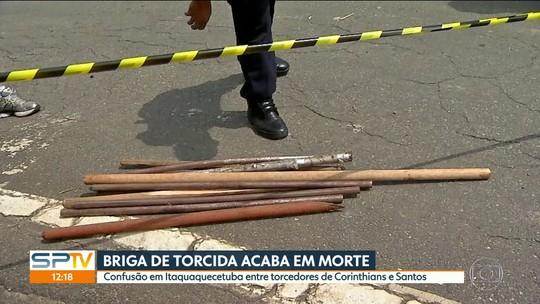 Homem morre depois de briga entre torcedores de Corinthians e Santos em Itaquaquecetuba