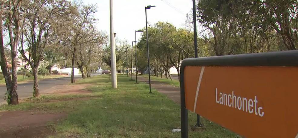 UFSCar de São Carlos (SP) está com as aulas presenciais suspensas. — Foto: Reprodução EPTV/Marlon Tavoni