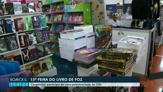 15ª Feira do Livro de Foz do Iguaçu