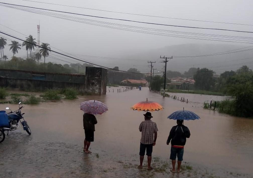 Povoado de Boa Sorte, área mais afetada de Pedro Alexandre, na Bahia — Foto: Gino Giubbini/Arquivo pessoal