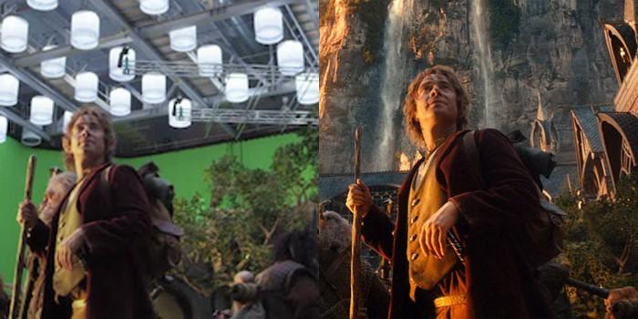 """Efeitos em """"O Hobbit"""" (Foto: Divulgação)"""