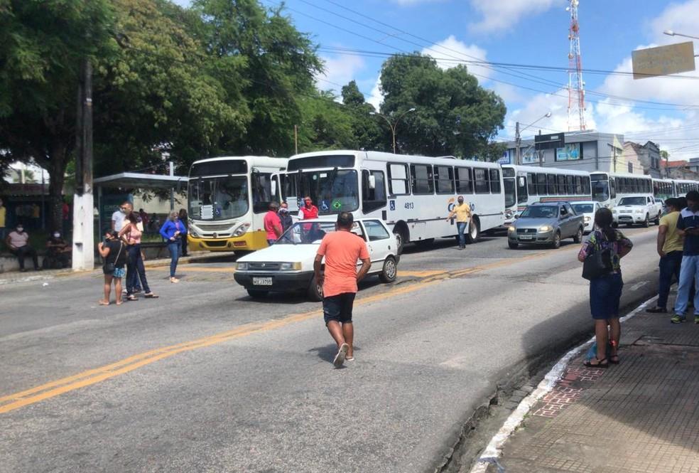 Ônibus em Natal (Arquivo) — Foto: Geraldo Jerônimo/Inter TV Cabugi