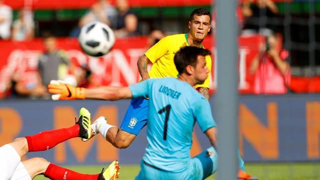 Philippe Coutinho teve grande atuação contra a Áustria