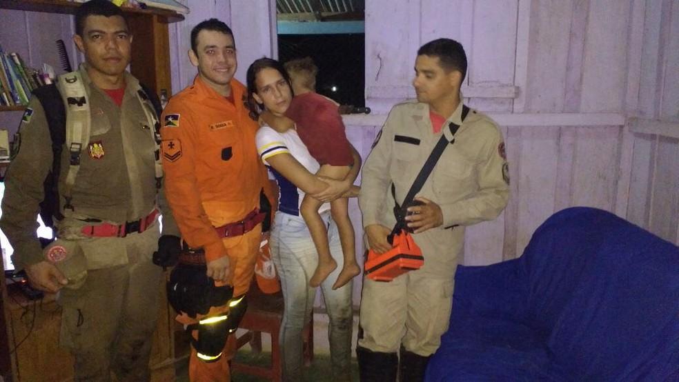 O cabo Rafael Souza, salientou que está foi a ocorrência mais marcante para ele em oito anos em oito anos que prestas os serviços.  (Foto: Rede Amazônica/Reprodução)