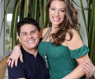 César Filho e Elaine Mickely | Reprodução