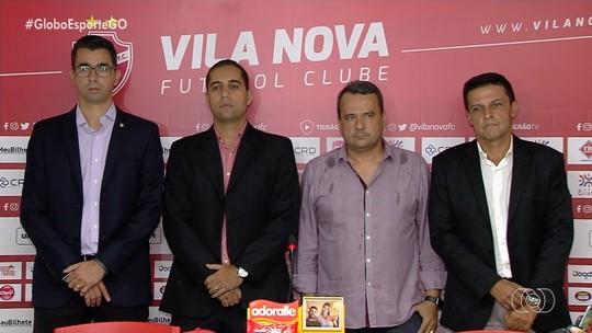 Novo presidente do Vila revela que já tem comissão técnica e nove jogadores contratados
