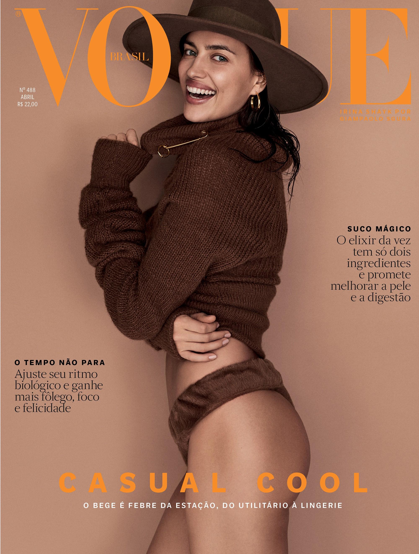 51f9ed9deb Curiosidades sobre Irina Shayk nos bastidores da capa da Vogue de ...