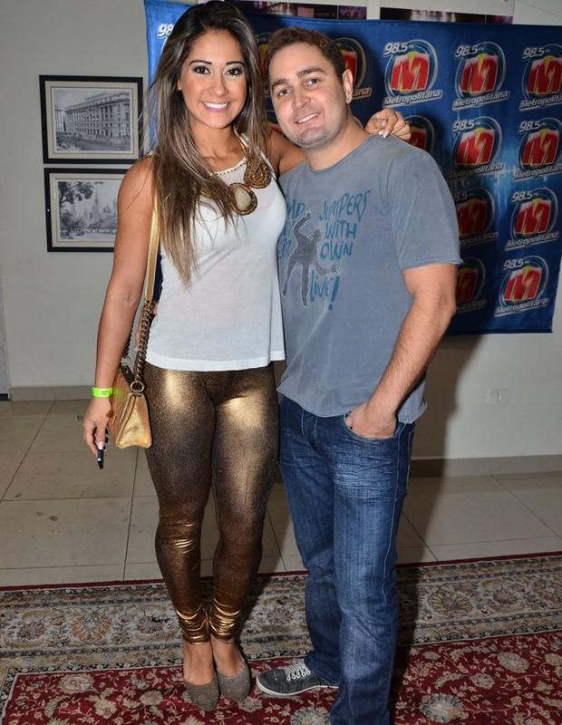 Mayra Cardi e Greto Guariz (Foto: Caio Duran/AgNews)