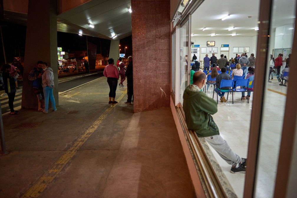 Pronto-Socorro Álvaro Azzuz, em Franca (SP) — Foto: Igor do Vale