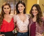 Deborah Secco, Vitoria Strada e Juliana Paiva protagonizam 'Salve-se quem puder' | Divulgação