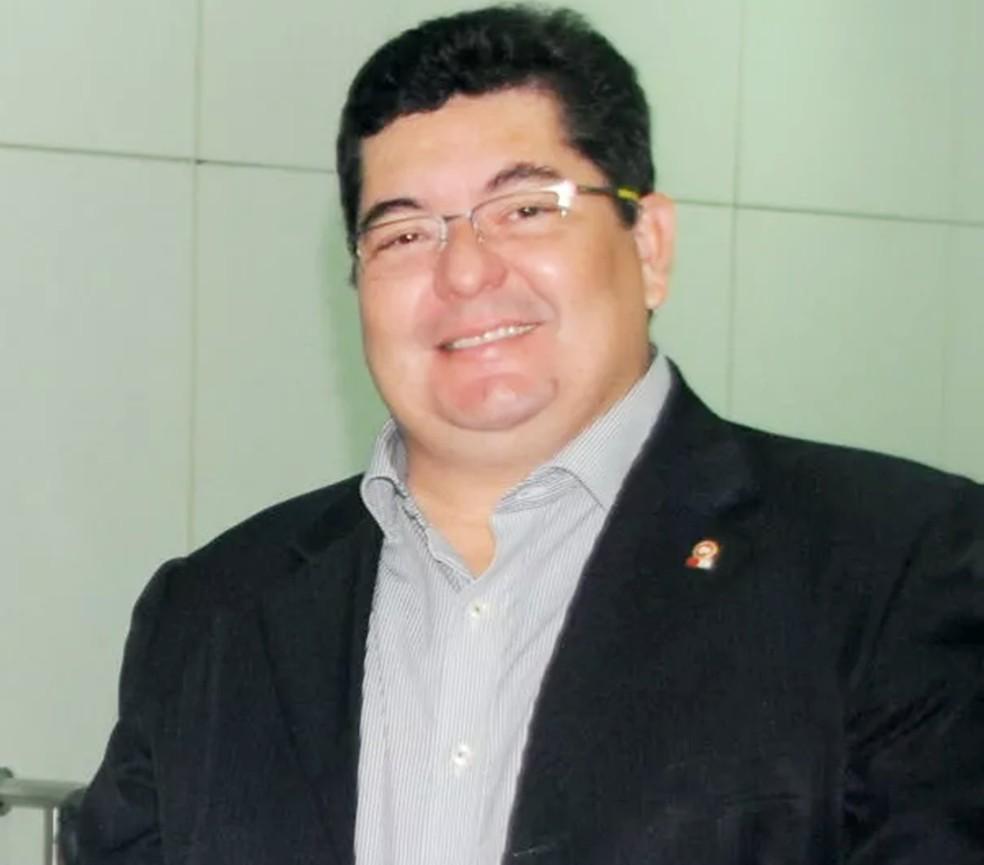 Promotor Eudo Rodrigues Leite foi reconduzido ao cargo de procurador-geral de Justiça do RN — Foto: MPRN/Divulgação