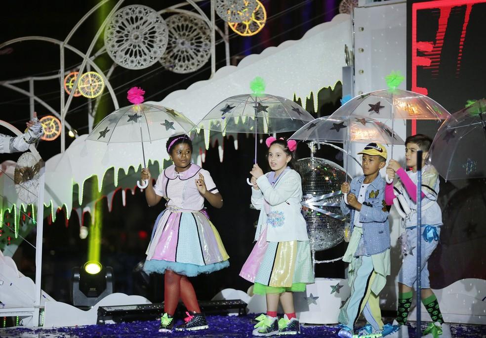 Apresentações do Natal do Palácio avenida começam na sexta-feira (30). — Foto: Giuliano Gomes/PR Press