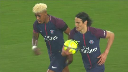 Os gols de PSG 2 x 2 Guingamp pelo Campeonato Francês