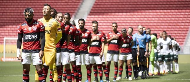 Flamengo e Palmeiras já divulgaram números de 2020