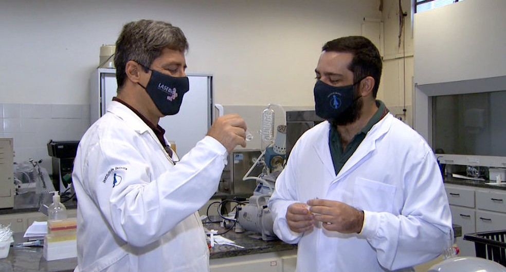 Nos próximos passos do estudo os pesquisadores irão avaliar a eficiência de diferentes dosagens da molécula — Foto: Paulo Chiari/EPTV