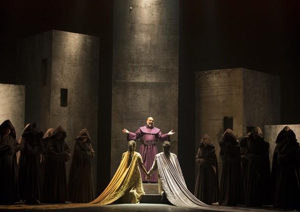 Musical Romeu e Julieta, com direção de Guilherme Leme Garcia (Foto: Divulgação)