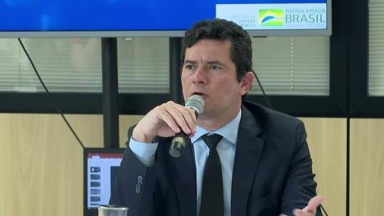 Sérgio Moro comemora aprovação de parte do pacote anticrime