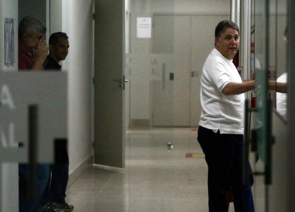 Anthony Garotinho após ser preso — Foto: Wilton Júnior/Estadão Conteúdo