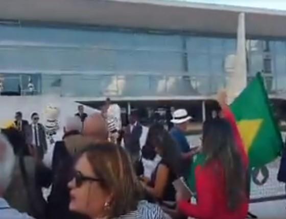 Movimento Brasil Livre faz manifestação contra a indicação de Lula para a Casa Civil (Foto: MBL/Facebook)