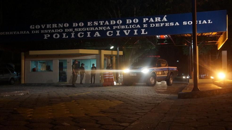 Operação Anonymous prende sete policiais no Pará. — Foto: Ascom/ PC