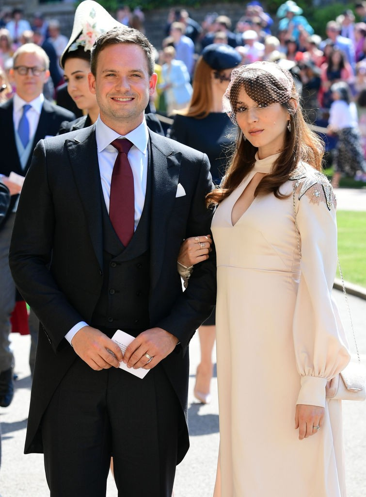 Patrick J. Adams e Troian Bellisario (Foto: Getty Images)
