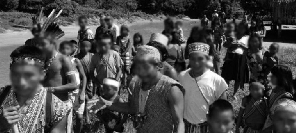Conhecimentos tradicionais são usados como base em livro que leva propostas para educação indígena nas aldeias  — Foto: Reprodução