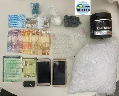 Homem é preso em flagrante suspeito de tráfico de drogas em Lagarto