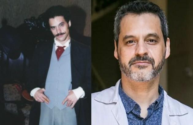 Bruno Garcia interpretou Adelino, o verdadeiro amor de Lola. Atualmente, faz parte do elenco de 'Sob pressão' (Foto: Reprodução)