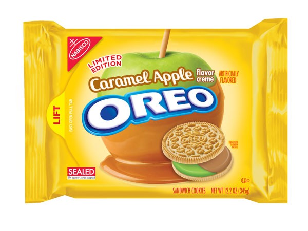Oreo sabor maçã caramelada (Foto: Reprodução)