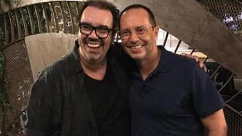 Marcello Caridade e Alessandro Marson (Foto: Arquivo pessoal)