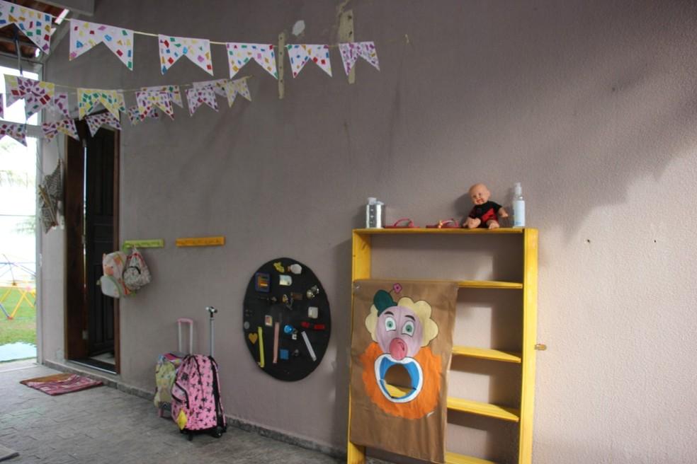 Com a pandemia, creches e escolas infantis foram fechadas — Foto: Prefeitura de Balneário Camboriú/Divulgação