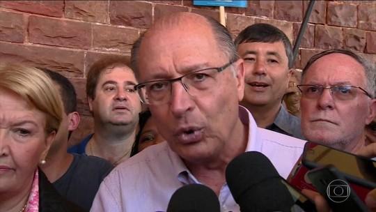 Alckmin promete reajustar tabela do SUS e reabrir 30 mil leitos em hospitais